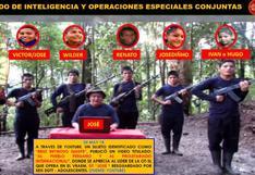 Vraem: estos son los terroristas desertores hallados por las fuerzas del orden
