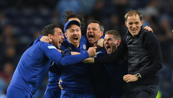 Thomas Tuchel disputó su segunda final de Champions consecutiva y ahora sí le tocó ganarla con el Chelsea. (Foto: Reuters).