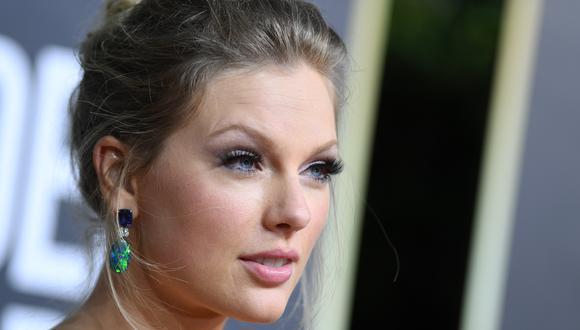 """Taylor Swift estrenará las canciones de """"Folklore"""" en un especial en Disney+.  (Photo by VALERIE MACON / AFP)"""
