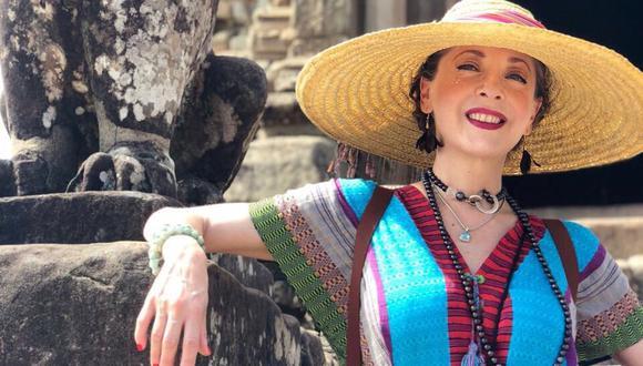 La familia de Edith González confirmó que la actriz falleció a consecuencia de un súbito deterioro de salud resultante de una recurrencia del cáncer que se le diagnosticó hace años. (Foto vía Twitter: @EdithGonzalezMx)