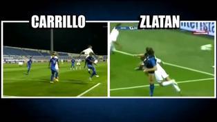 André Carrillo es comparado con Zlatan tras anotar un gol en Arabia