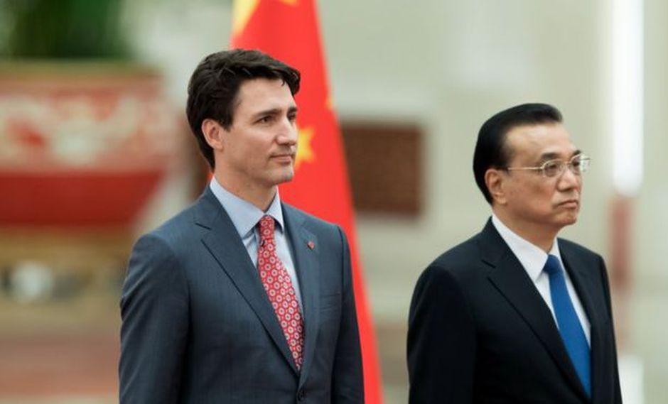 Un experto entrevistado por la BBC le sugiere a Justin Trudeau que hable por teléfono con el primer ministro chino, Li Keqiang, para discutir directamente la disputa de Huawei. (Getty Images vía BBC)