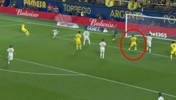 Real Madrid vs. Villarreal EN VIVO: Moi Gómez concretó el 2-1 tras displicencia de la zaga blanca | VIDEO. (Video: YouTube / Foto: captura de pantalla)