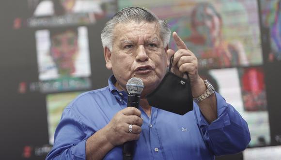 Candidato presidencial de Alianza para el Progreso, César Acuña, sigue en carrera en las Elecciones 2021. (Foto: GEC)