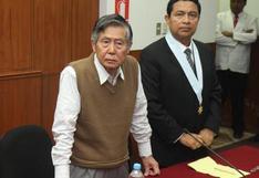 Alberto Fujimori: lectura de resolución sobre esterilizaciones forzadas se reanudará el 21 de setiembre