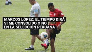 """Marcos López: """"Solo sé que voy a entregar lo mejor de mí en esta Copa América"""""""
