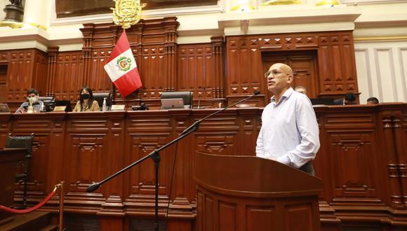 El ministro de Economía se presentó en el debate sobre la nueva Ley de Promoción Agraria. Su propuesta sobre el retiro de beneficios tributarios no ha sido escuchada. (Foto: Congreso)