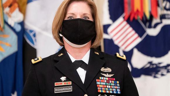 Laura Richardson, de 57 años, es actualmente la general comandante de la formación norte del Ejército de Estados Unidos, con sede en la base conjunta de San Antonio (Texas).