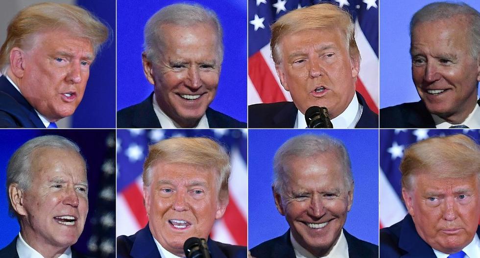 Mientras que Trump supuso una ruptura con la manera en la que tradicionalmente se hacía política en Estados Unidos, Biden representa el retorno a las formas tradicionales. (Foto: AFP)
