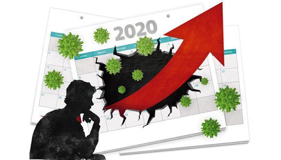 """""""El presidente esperó hasta el último día hábil para anunciar que el aislamiento no iba a levantarse en la fecha prevista"""". (Ilustración: Rolando Pinillos)"""