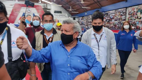 """César Acuña aseguró que la bancada de APP también está a favor de buscar la """"gobernabilidad"""". (Foto: GECI)"""