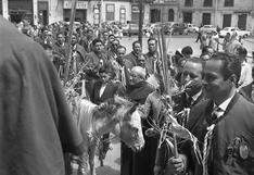 Domingo de Ramos, el día que Cristo pasea en un burro: así vivía la Lima del pasado la fecha