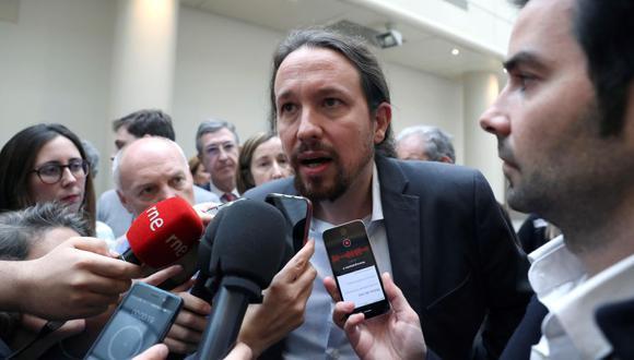 Pablo Iglesias, que dio negativo en las pruebas del coronavirus, anunció que se mantendría en cuarentena de catorce días tras el positivo de Montero, conocido el jueves pasado. (EFE).