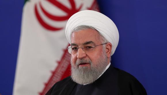 El presidente de Irán, Hassan Rouhani, es visto durante una reunión en Teherán, el 6 de agosto de 2019. (Official President website/REUTERS).