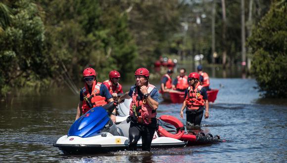 En su arrasadora trayectoria de miércoles a domingo Irma deja ya al menos medio centenar de muertos en el Caribe y Estados Unidos. (AFP)