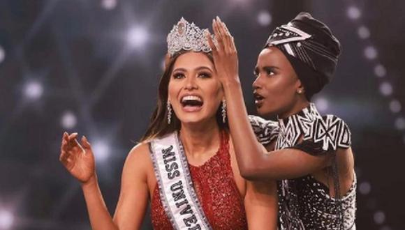 Andrea Meza confesó que el color de su vestido fue una coincidencia, pues otras concursantes mexicanas ya lo habían usado en sus coronaciones en Miss Universo. (Foto: @andreamezamx / Instagram)