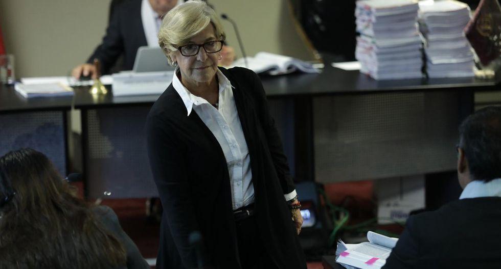 Susana Villarán está detenida por el Caso Lava Jato. (Foto: Anthony Niño de Guzmán/ Archivo El Comercio)