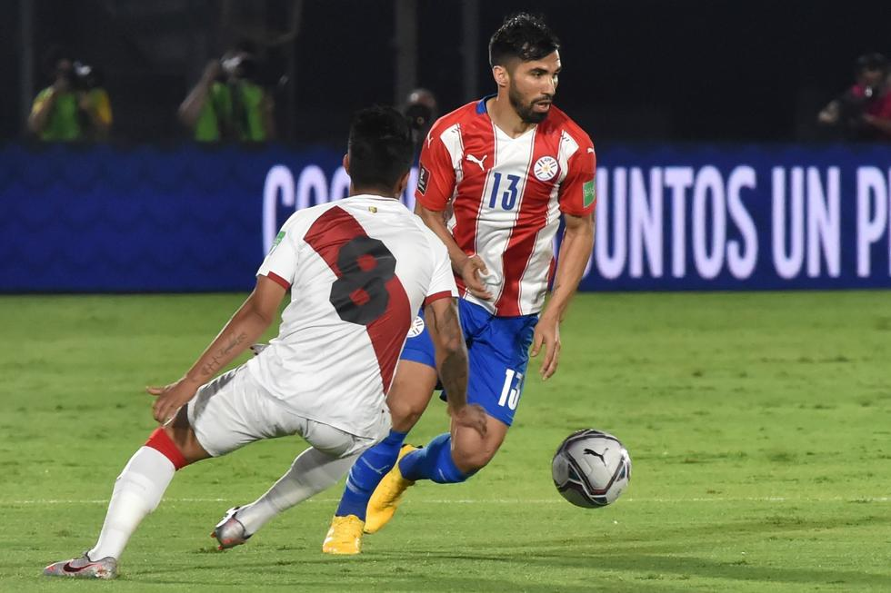 Perú - Paraguay. (Foto: AFP)