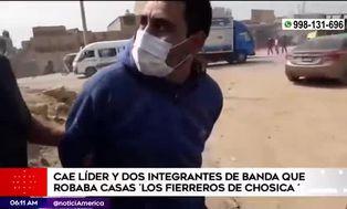 Capturan banda de 'robacasas' en Chosica