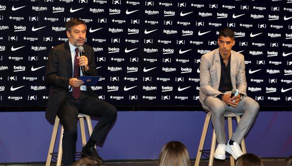 Luis Suárez fue transferido del Barcelona al Atlético de Madrid. (Foto: FC Barcelona)