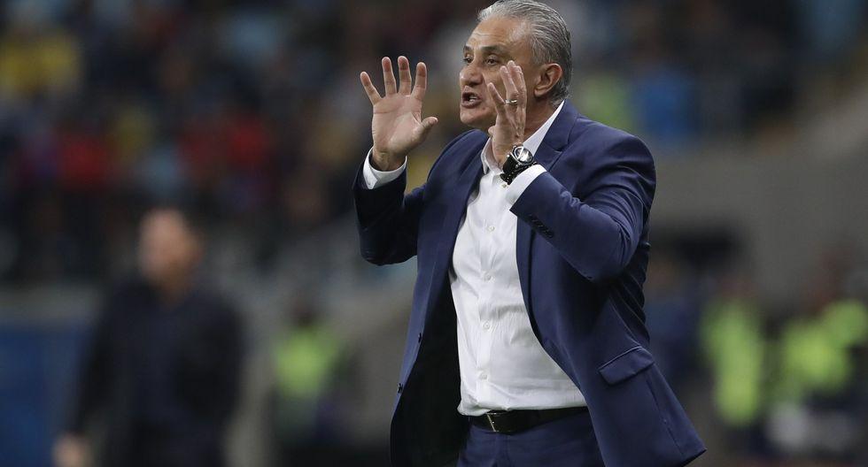 Brasil vs. Paraguay: Tite y su reacción tras inmejorable opción fallada por Gabriel Jesus en Copa América. (Foto: AFP)