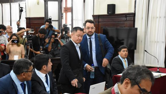 La fiscalía pide 12 años de cárcel para Kenji Fujimori. (Foto: Poder Judicial)