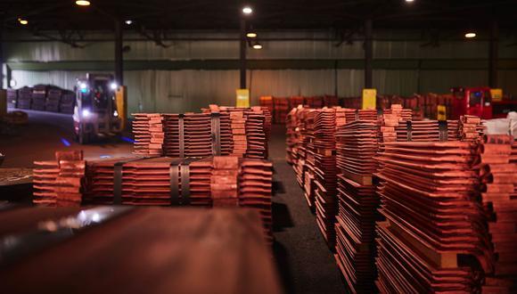 El cobre subía un 2,2%. (Foto: Bloomberg)