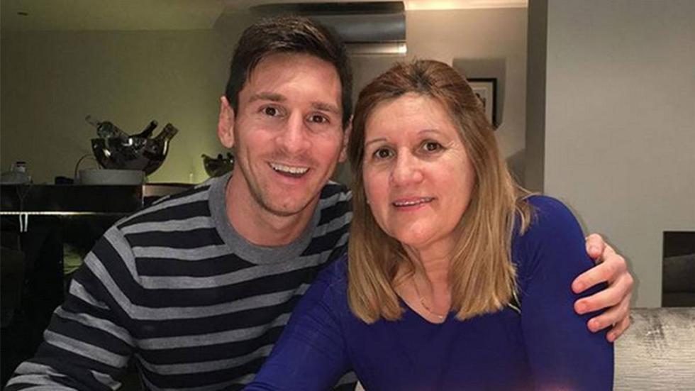 Celia María Cuccittini, madre de Lionel Messi.