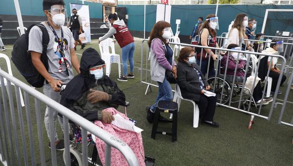 La primera ministra Violeta Bermúdez afirmó que lo sucedido en Pueblo Libre era una incidencia aislada.  (Foto: Eduardo Cavero / @photo.gec)