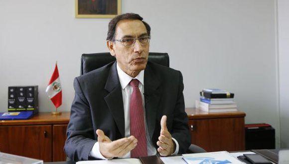 """Martín Vizcarra: """"García Belaunde miente sin ningún reparo"""""""