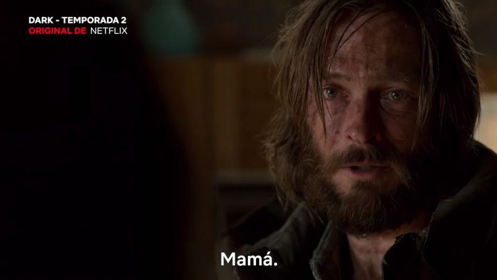 El Jonas del futuro se reencuentra con su madre (Foto: Dark / Netflix)