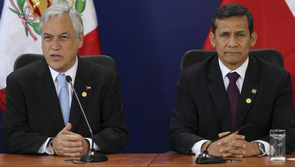 Humala y Piñera coincidirán este domingo en Cartagena