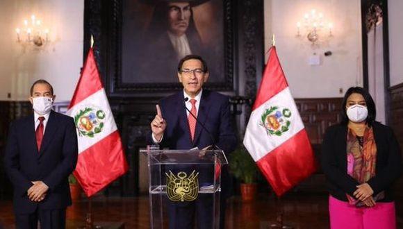 El presidente Martín Vizcarra evaluó con los integrantes del Gabinete Ministerial las acciones a tomar tras la difusión de audios del Caso Swing. (Foto: Presidencia de la República)