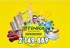 La Tinka EN VIVO, sigue aquí el sorteo y resultado de hoy, domingo 19 de setiembre