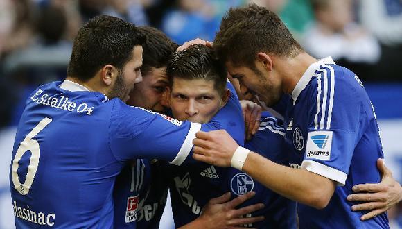 Schalke goleó 4-0 a Hoffenheim sin Farfán por la Bundesliga