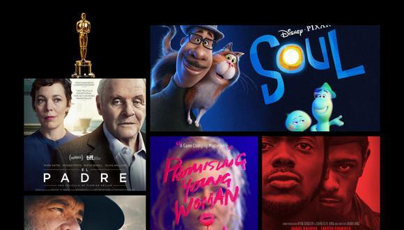 Después de todo un año de excelentes películas, ya casi llega la 93a entrega de los Premios Oscar. Entérate por donde serán transmitidos (Foto: Montaje)