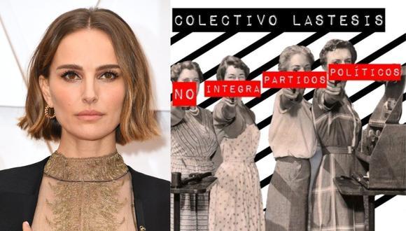 """Actrices de Hollywood firmaron una carta en apoyo al colectivo LasTesis, creador del himno contra la violencia sexual """"Un violador en tu camino"""". (Foto: AFP/@@lastesisoficial)"""