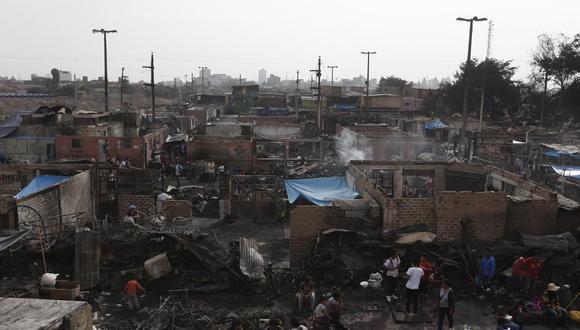 Más de 430 viviendas fueron afectadas y decenas de familias quedaron en la calle por el incendio de 2016.