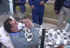 Cusco: médico vence al COVID-19 tras estar hospitalizado en el nosocomio donde laboraba | VIDEO