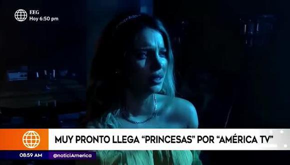 América TV presentó adelanto de su nueva producción inspirada  en las princesas Disney. (Foto: captura de video)
