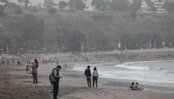 Gobierno anuncia que Minsa prepara protocolo para el acceso a playas para la próxima temporada de verano en plena pandemia por el coronavirus. (Foto: Angela Ponce/GEC)