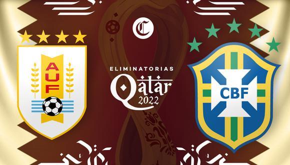 Uruguay vs. Brasil EN VIVO este martes por las Eliminatorias Qatar 2022, fecha 4.