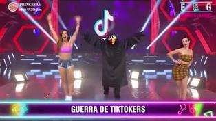 Paloma Fiuza y Rosángela Espinoza se enfrentaron en duelo de TikTok
