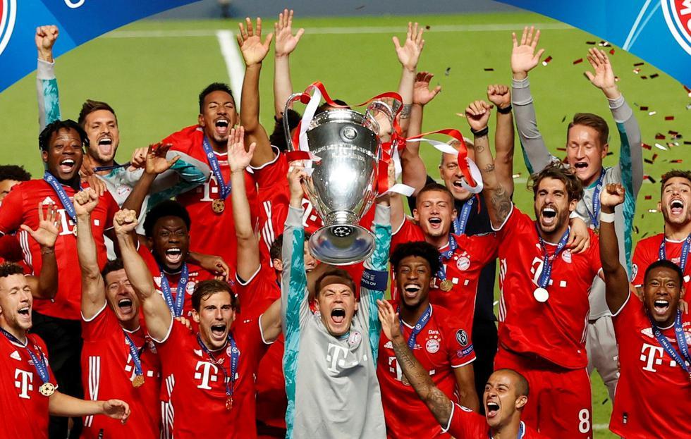 Bayern Múnich venció al PSG y se cosagró campeón de la Champions League
