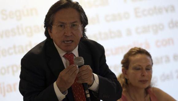 Alejandro Toledo ha evitado responder preguntas incómodas de la prensa en las últimas semanas, por ejemplo, por el Caso Ecoteva. (Foto: El Comercio)