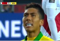 Perú vs. Brasil: Firmino y el cabezazo que pudo ser el 2-1 en el estadio Nacional | VIDEO