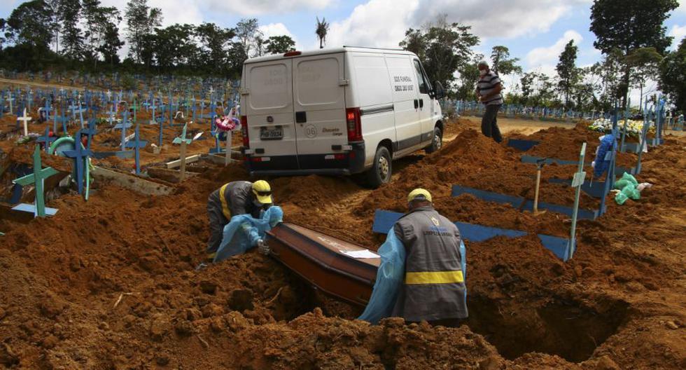 Coronavirus en Brasil | Últimas noticias | Último minuto: reporte de infectados y muertos por COVID-19 hoy, jueves 4 de marzo del 2021. (Foto: AP/Edmar Barros)