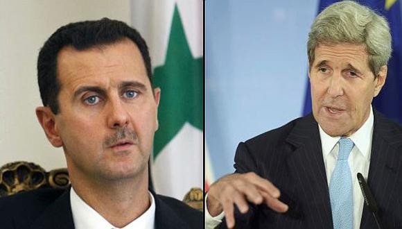 Kerry: Algo en el camino impide avanzar y su nombre es Al Asad