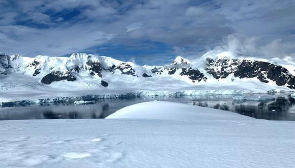 Expedición femenina en la Antártida