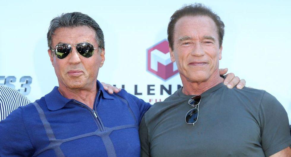 Schwarzenegger y Stallone: de enemigos a inseparables amigos - 3